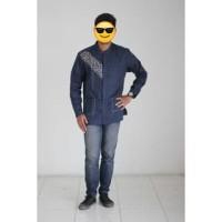 [Sale Murah] Baju Muslim Dannis Koko Dewasa type 170213 - Biru Dongker
