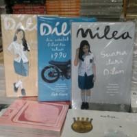 Novel Paket tiga buku Dilan satu dua dan Milea