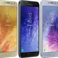 HP SAMSUNG GALAXY J4 TAHUN 2018 WARNA GOLD