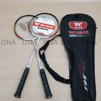 Raket Badminton Wish JR-361 / Raket Bulutangkis Wish Junior - ORIGINAL