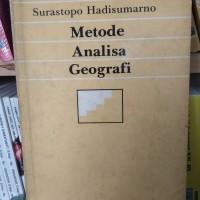 Metode Analisa Geografi - Prof. R. Bintarto