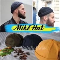 Grosir Topi Peci Muslim Miki Hat Model Kupluk Murah
