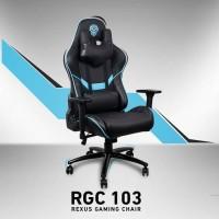 Kursi Gaming Rexus RGC103 Biru Chair Seat Komputer