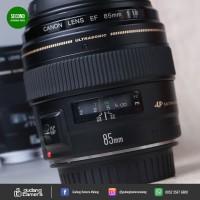 [SECONDHAND] Canon EF 85mm F1.8 USM - 5603 @Gudang Kamera Malang