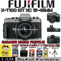 Harga fujifilm x t100 kit 15 45mm fuji xt100 xt100 garansi resmi | Pembandingharga.com