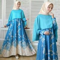 asd maxi XL cape AYUKA TOSCA / baju wanita hijab muslim cewek