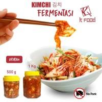 Kimchi Fermentasi Original Korea Ukuran 1KG
