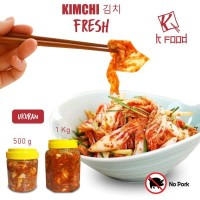 Kimchi Fresh Original Korea ukuran 1KG