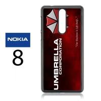 Casing Nokia 8 Umbrella Corporation Hard Case Custom