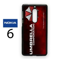 Casing Nokia 6 Umbrella Corporation Hard Case Custom