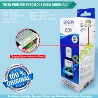 Tinta Printer Epson 001 Original Black L4150 L4160 L6160 L6170 L6190