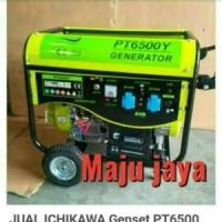 Genset 6000 Watt bensin ICHIKAWA stater yamasuka yamamo Oke