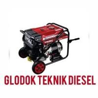 Shin Meiho Genset 5000 W Watt Generator Bensin Listrik Oke