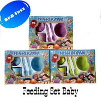 Jual Baby's Feeding Set BPA Free Perlengkapan Makan Bayi Murah
