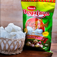 Snack Krupuk Bawang Siap Saji Khas Surabaya