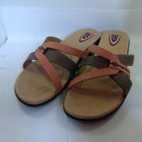 sandal carvill hasten 04 brown - sandal wanita - sepatu wedges