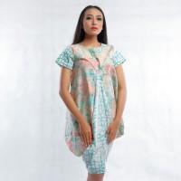Batik Pria Tampan - Dress Raema Sorbet Coreopsis Com Wavy Woven