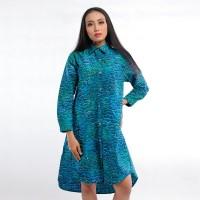 Batik Pria Tampan - Dress A-Shirt Abs Water Ruffles
