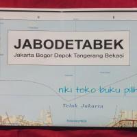 Peta Jabodetabek Lipat 2 Sisi
