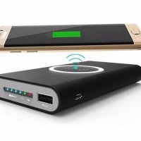 FAST CHARGING Dijual WIRELESS CHARGER POWERBANK 10000MAH USB POWERBAN