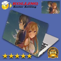 TE Garskin Laptop Sword Art Online 9 Skin Laptop Stiker Laptop