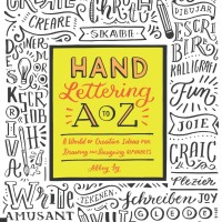 Hand Lettering A to Z ( Panduan Desain Unik Huruf Alfabet / eBook )