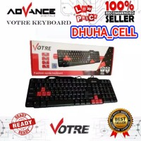 KEYBOARD KOMPUTER VOTRE KB2308 / KEY BOARD KB 2308 ORIGINAL WINDOWS