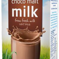 Greenfields UHT 1 Liter Chocomalt - Harga Grosir/Kartonan