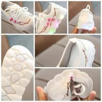 Sepatu Anak Lampu Sakura Led Import Murah