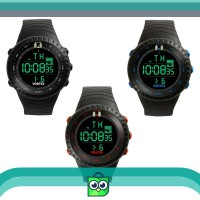 Vortex VX 1001 Sport Hitam - Jam Tangan Sport Digital - Sporty