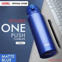 Thermos Tumbler One Push Ultra Light - M Blue 750ml (JNL-752-MTB)