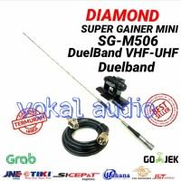 Harga paket antena rig mobil sg 506 duelband radio komunikasi | antitipu.com