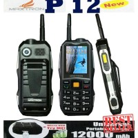 Ori Handphone | MAXTRON P12 NEW 12000mAh / HP OUTDOOR / POWER BANK -