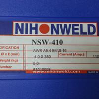 Kawat Las E410 Nihonweld Dia 4.0mm
