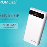 Romoss Sense 6P Power Bank 20000mAh dengan LCD Display Diskon