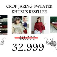 Harga Reseller Baju Crop Travelbon.com