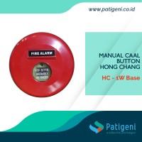 Fire Alarm HC-1W Manual Push Button Hong Chang
