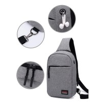 Harga tas selempang pria oxfort import dengan lubang earphone ss02 | WIKIPRICE INDONESIA