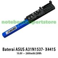 Baterai ASUS A31N1537- X441S 10.8V --- 2600 batre batrai batere laptop