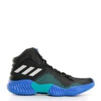 899eda10c3d Sepatu Basket Original Adidas Pro Bounce 2018 Black Grey Blue