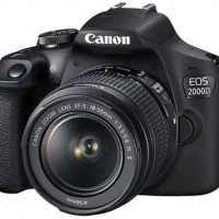 canon eos 2000D kit 18-55mm IS II