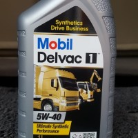Oli Diesel Mobil Delvac 1 5w40 1 liter Asli (ada hasil Lab Trakindo)
