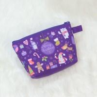 Christmas Pouch Purple