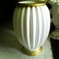 Jual Vas Bunga/Pot Bunga Fiber Dekorasi Pelaminan MURAH Surabaya