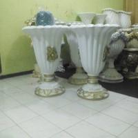 HARGA Vas Bunga Fiber/Pot Bunga Fiber Dekorasi Pernikahan Jakarta