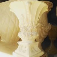 Vas Bunga/Pot Bunga Fiber Hiasan Dekorasi Pelaminan MURAH Kota Malang