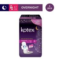 Kotex Overnight PAG Longer 41 cm (6 pcs)