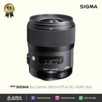 [NEW] Sigma for Canon 35mm f/1.4 DG HSM | Art @Gudang Kamera Malang
