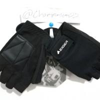 Jual sarung tangan Eiger half finger glove gloves riding motorcycle Murah