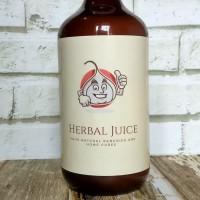 Jus herbal bawang putih tunggal + jahe merah+ madu+ lemon